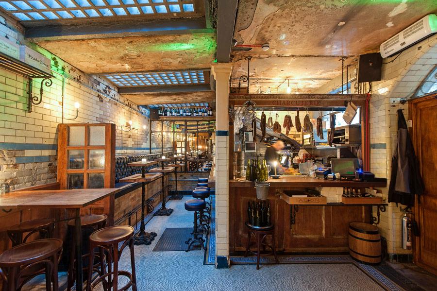 Originales proyectos de interiorismo para restaurantes.