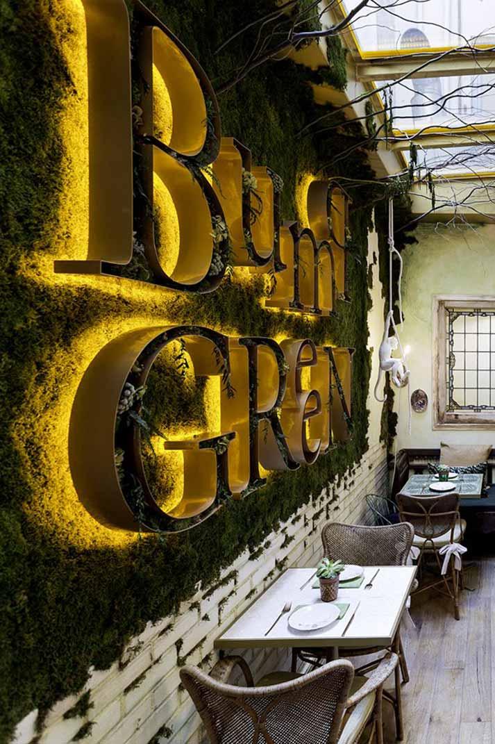 Diseños para restaurantes a la vanguardia de la sostenibilidad.