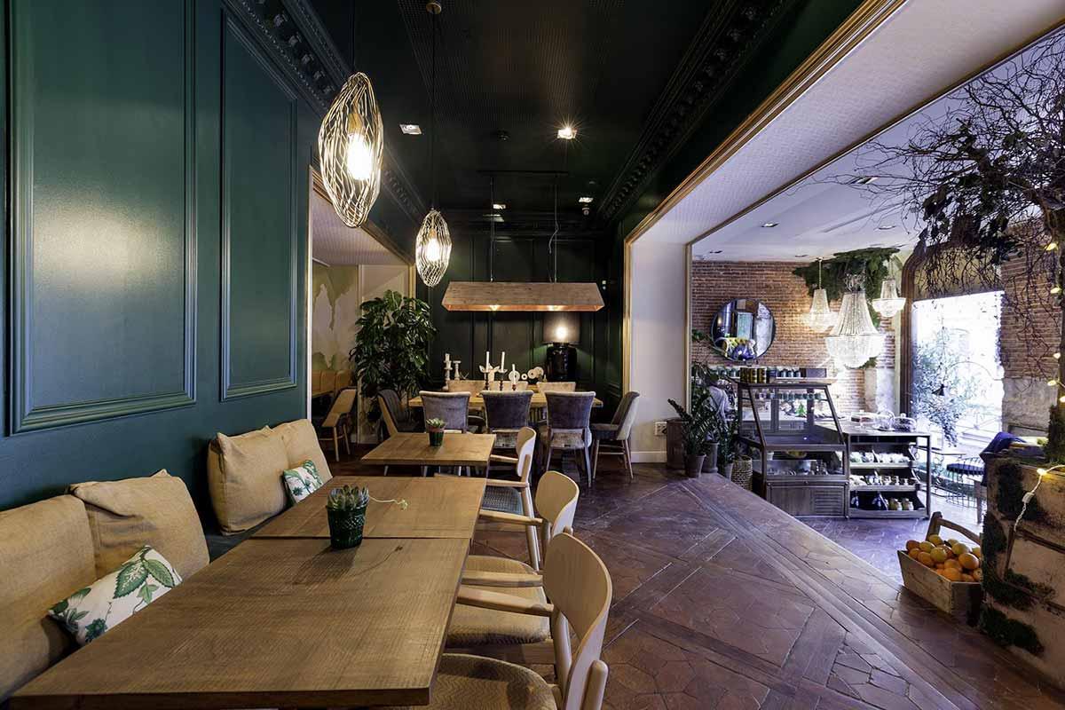 Dise os para restaurantes interiorismo de vanguardia for Diseno de restaurantes