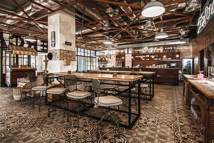 Los mejores pavimentos para restaurantes.
