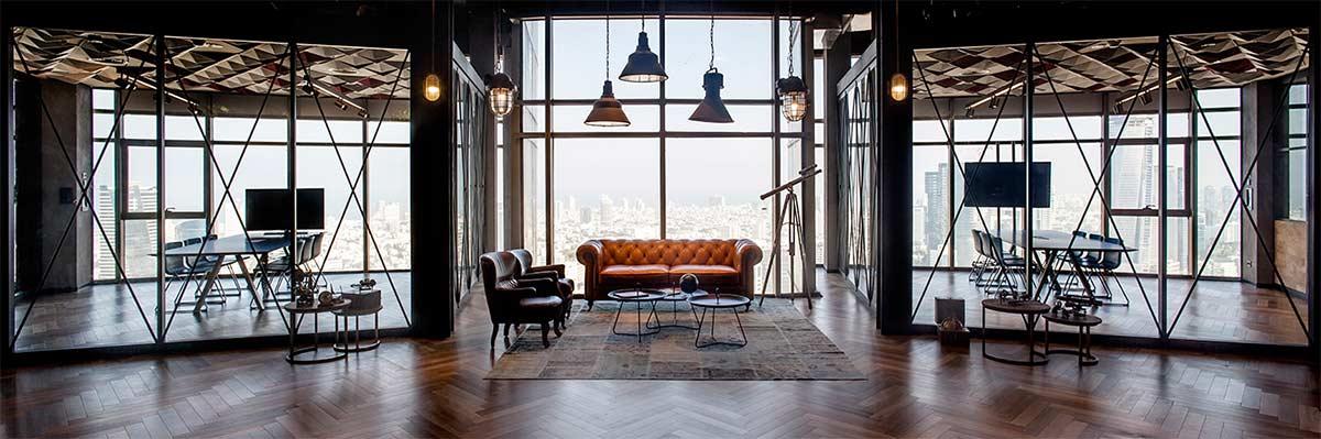 La influencia del interiorismo en la decoración de oficinas como factor clave en la productividad.