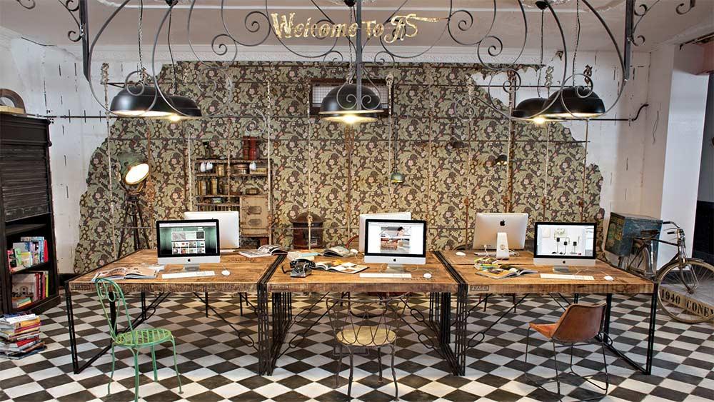 Mobiliario de oficina de la firma Francisco Segarra.