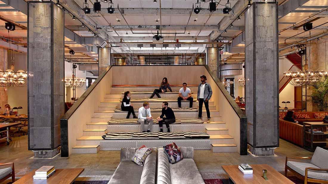 Ideas y tendencias para el diseño del espacio de trabajo.
