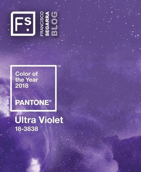 PANTONE 18-3838. Ultra Violet, Color PANTONE® del año 2018.