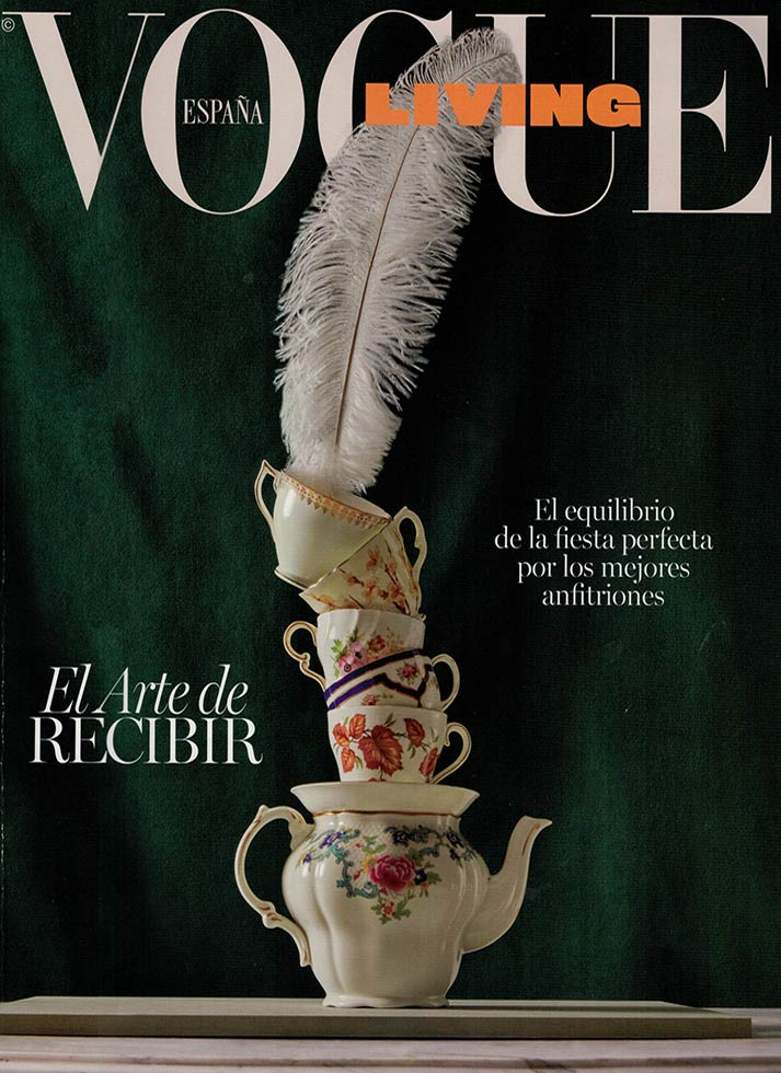 Francisco Segarra marca tendencia en Vogue Living.
