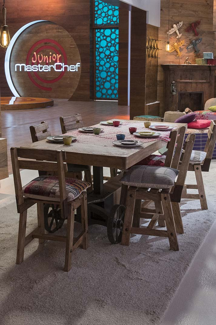 Muebles Francisco Segarra en MasterChef Junior 5.