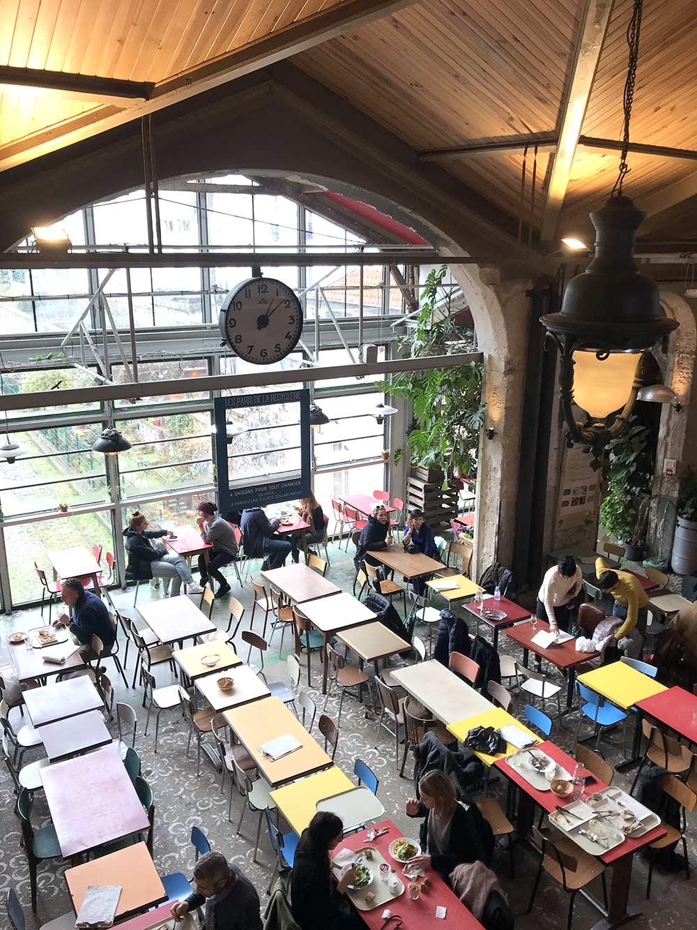 Francisco Segarra y su afán por descubrir conceptos de restaurantes innovadores. La REcyclerie.