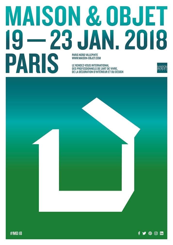 Francisco Segarra en Paris Deco Off y MAISON&OBJET 2018.