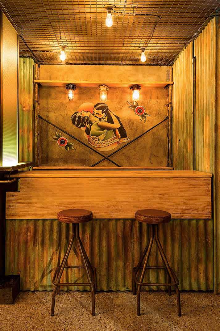 Un proyecto ejemplarizante sobre cómo decorar un pub. Carmela Trajano.