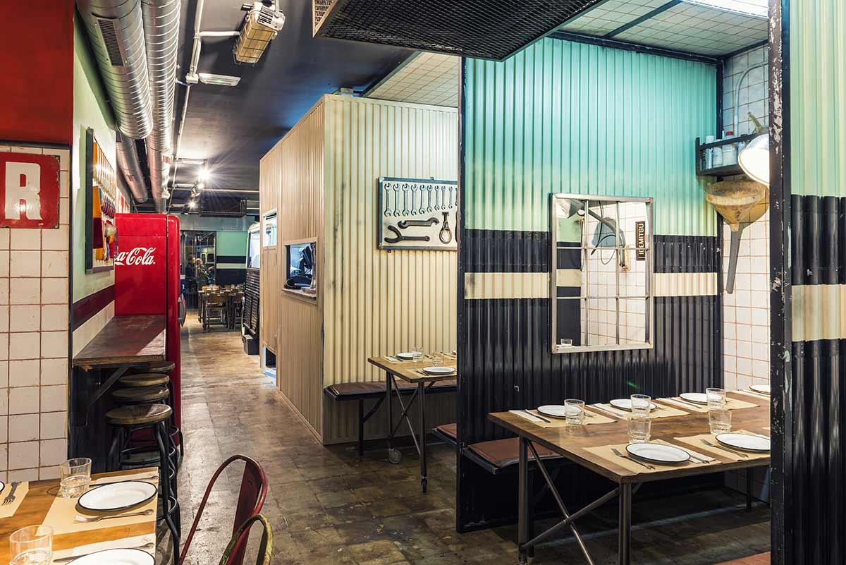 Interiorismo y diseño para restaurantes. Francisco Segarra.