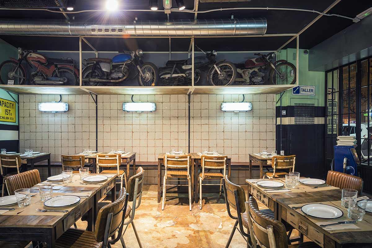 Grandes diseños para restaurantes.
