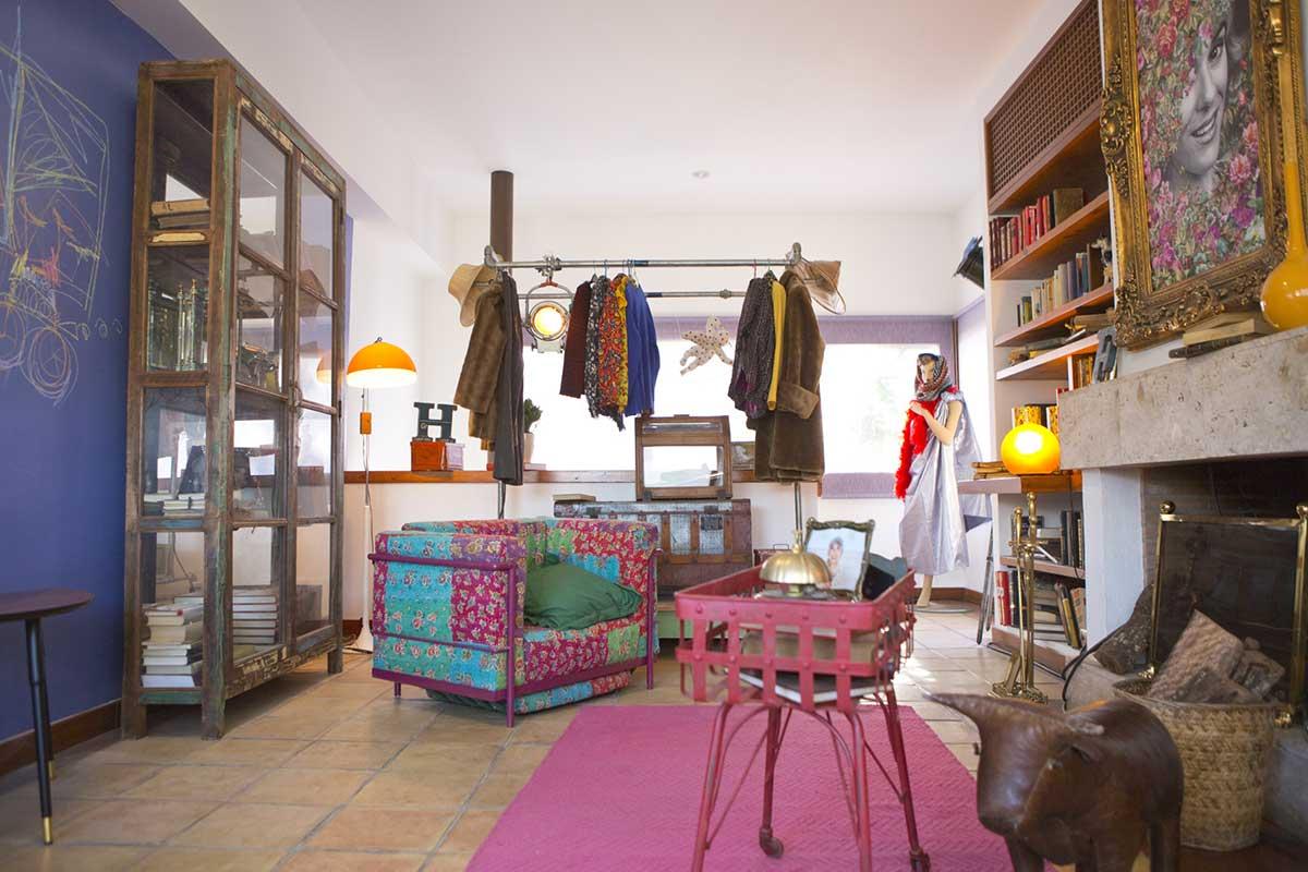 Mobiliario vintage de la marca Francisco Segarra.
