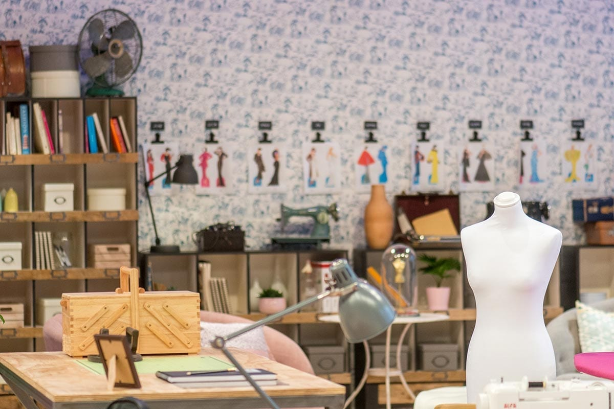 Muebles de mercería en Maestros de la Costura.