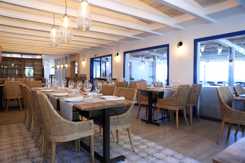 Brisa. Diseño de restaurantes estilo mediterráneo.