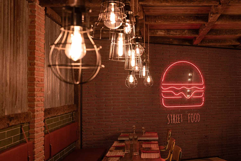 Proyectos de iluminación para restaurantes.