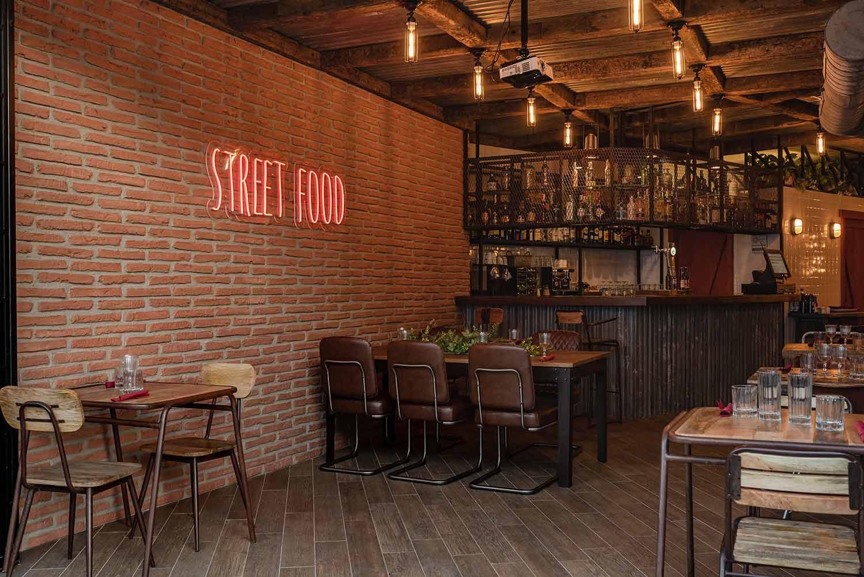Interiorismo y diseño para restaurantes. Estilo rústico.