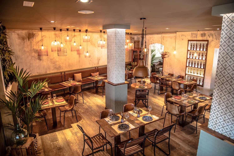 Reformas restaurantes. El Cortijo.