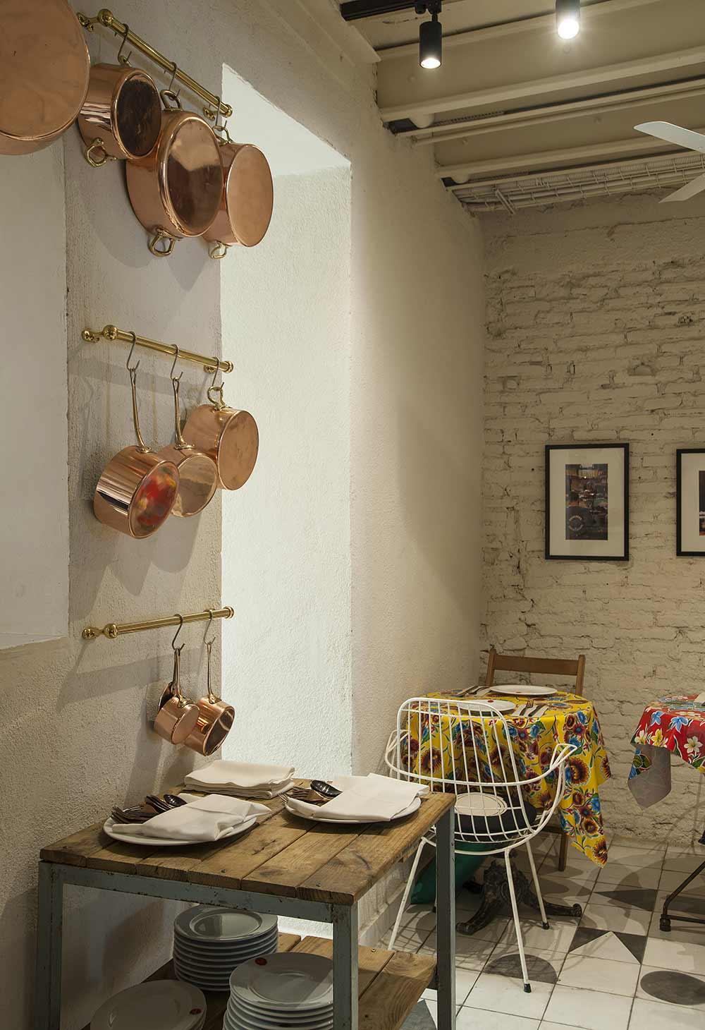 Interiorismo y decoración de restaurantes éxoticos.