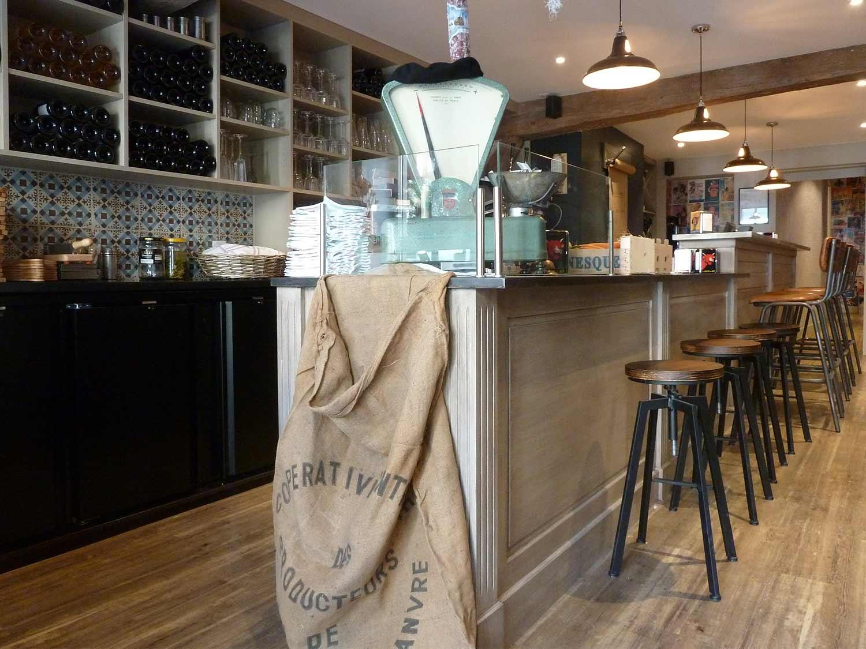 Ideas para interiorismo para bares pequeños.