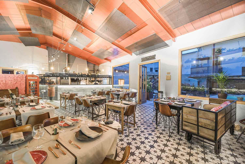 Creación de restaurantes asadores.