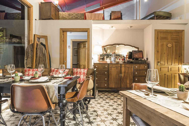 Interiorismo para restaurantes y asadores.