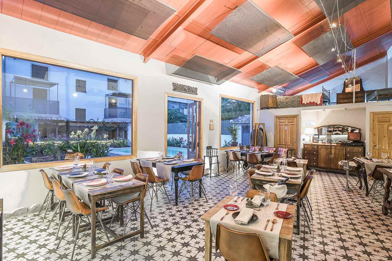 Interiorismo para restaurantes.