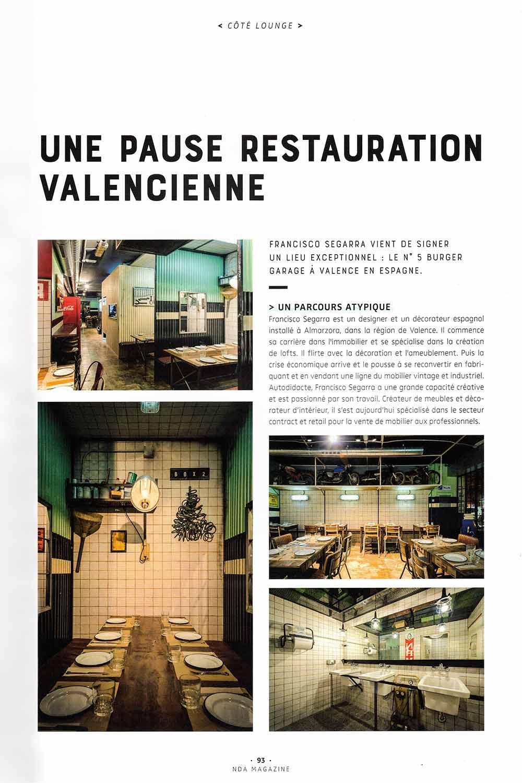 Tendencias diseño de restaurantes.
