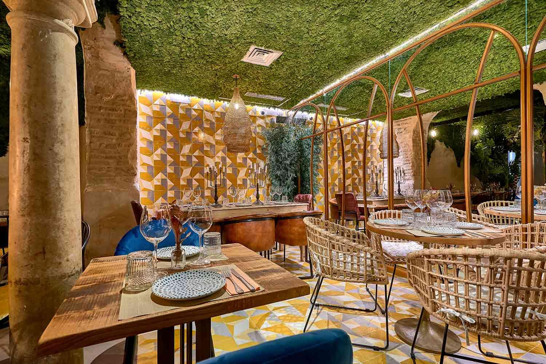 Concepto gastronómico del Bar Restaurante Senza.