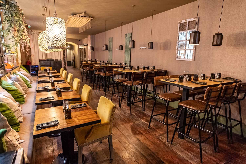 Interiorismo y decoración vintage restaurantes.