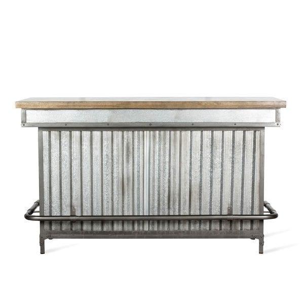 Barras de bar de estilo industrial.