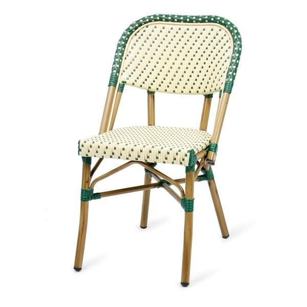 Chaise de bistrot style parisien.