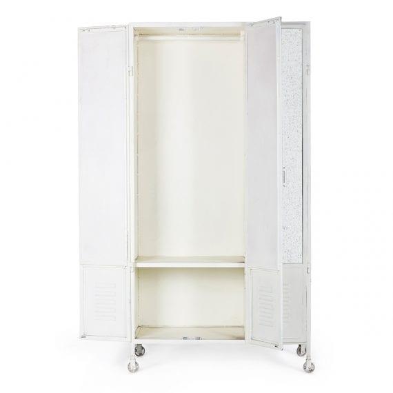Equipamiento y mobiliario para vestuarios.