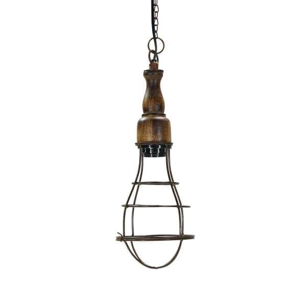 Lámparas de alambre comercializadas por Francisco Segarra.