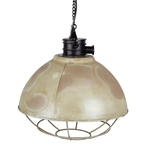 Lámparas de estilo industrial.