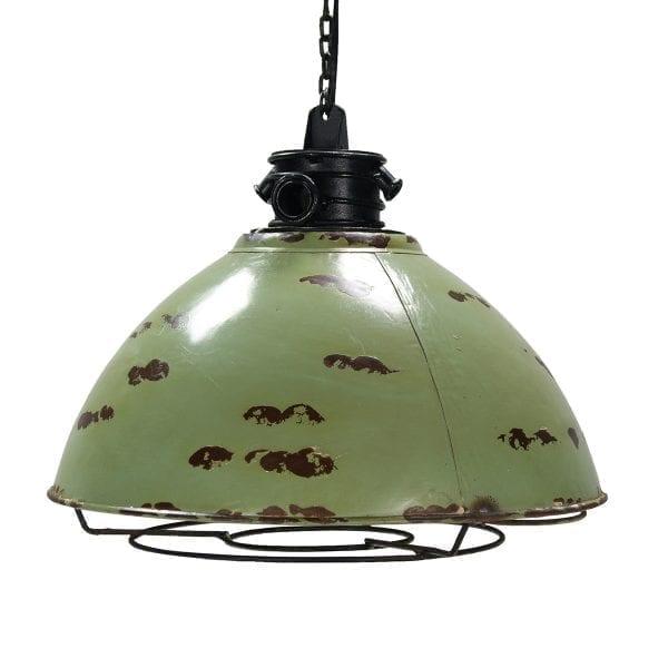Imágen de las lámparas de suspensión Detroit óxido.