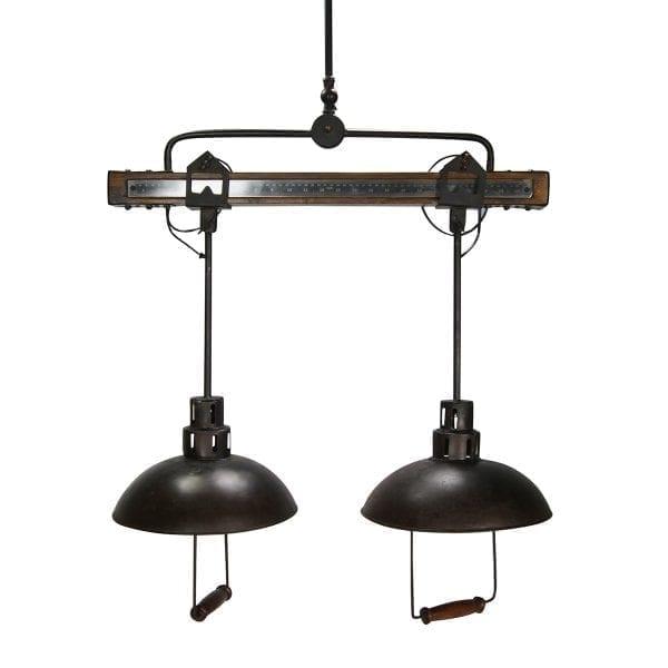 Lámparas de techo vintage industrial Apollo.