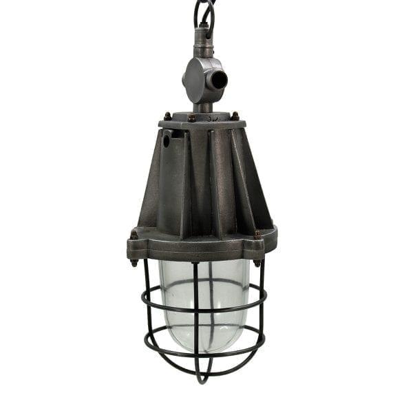 Lámparas de tipo industrial.