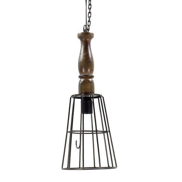 Lampe industrielle pour aménagement de bar ou restaurant.