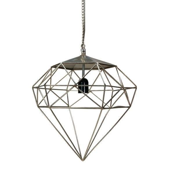 Lampe style industriel modèle diamond.