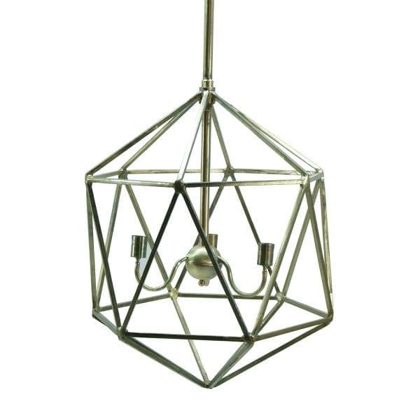 Lampes dorées pour espaces professionnels.