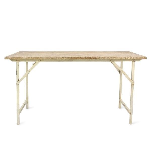 Mesas plegables para restaurantes.