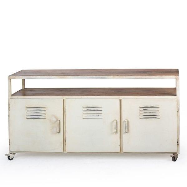 Mueble bajo para almacenaje.