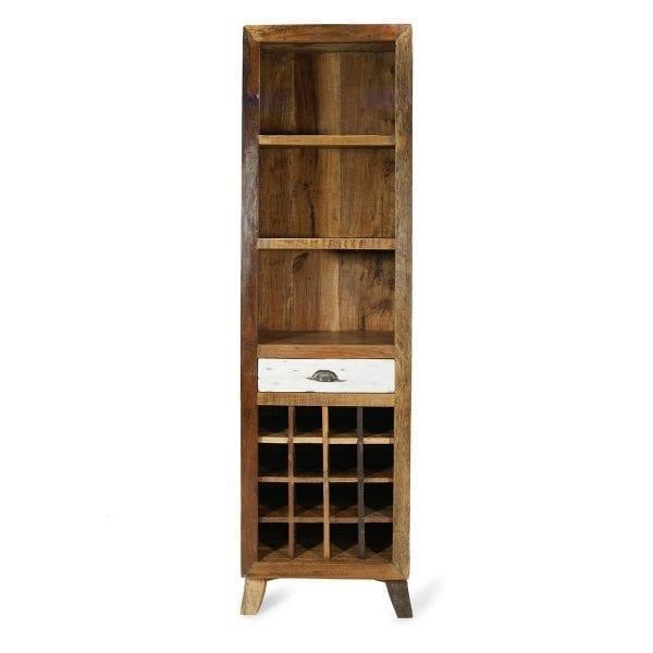 Imagen de los muebles expositores vintage Saki.