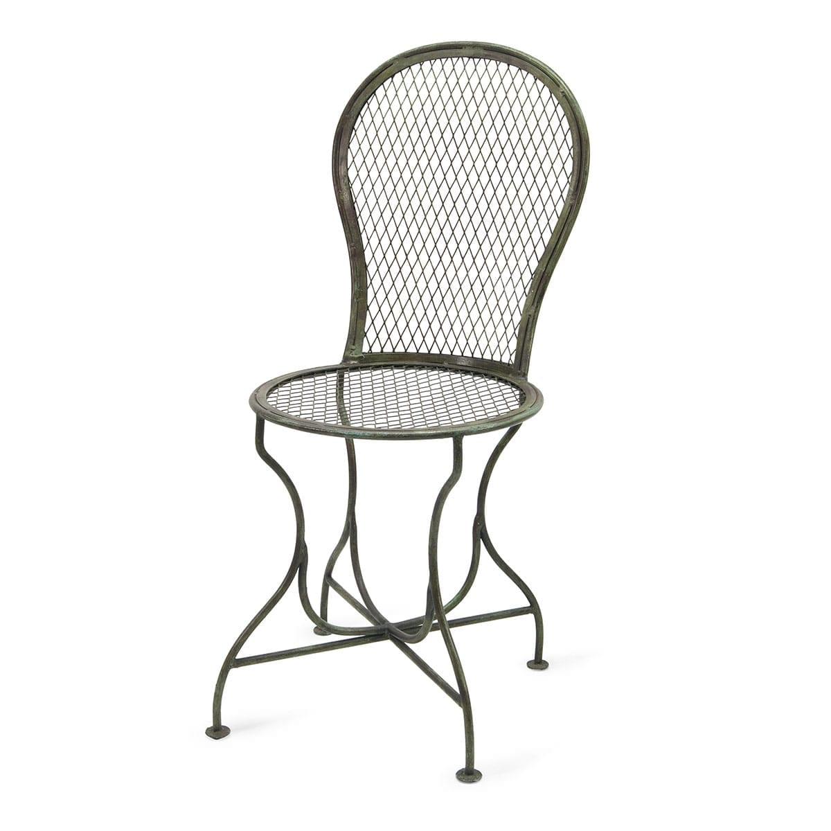 silla hierro jardin madrid