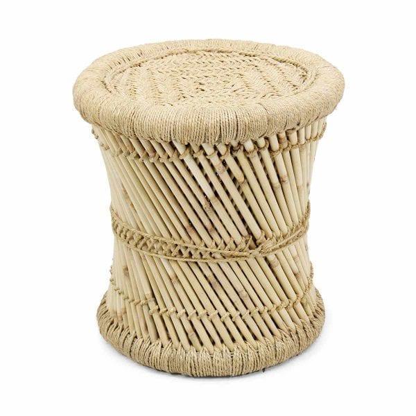 AINARA. Taburetes en bambú para cafeterías y restaurantes.