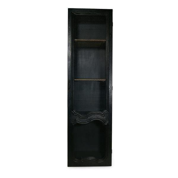 Elegantes vitrinas negras modelo Cracovia.