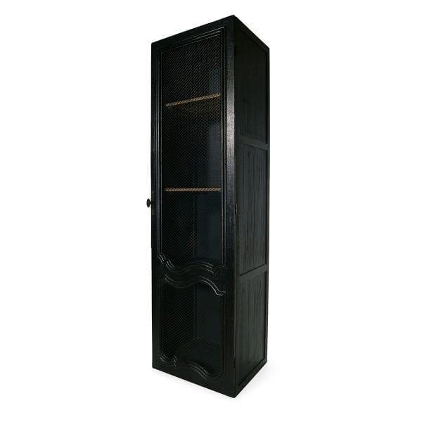 Elegantes vitrinas negras para boutiques.