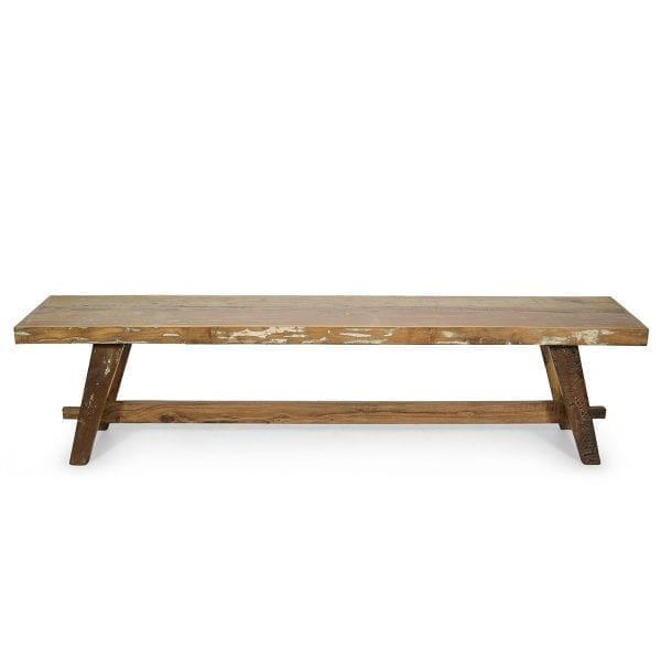 Imagen de los bancos de madera Taube.