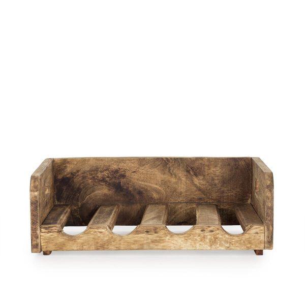 Botelleros en madera para pared.