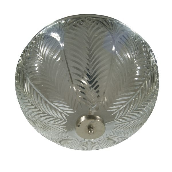 Imágenes de las lámparas en acero y cristal de Francisco Segarra